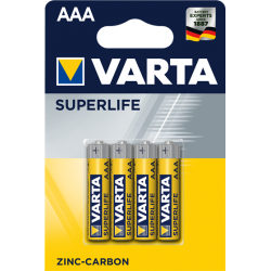 4 x VARTA SUPERLIFE AAA...